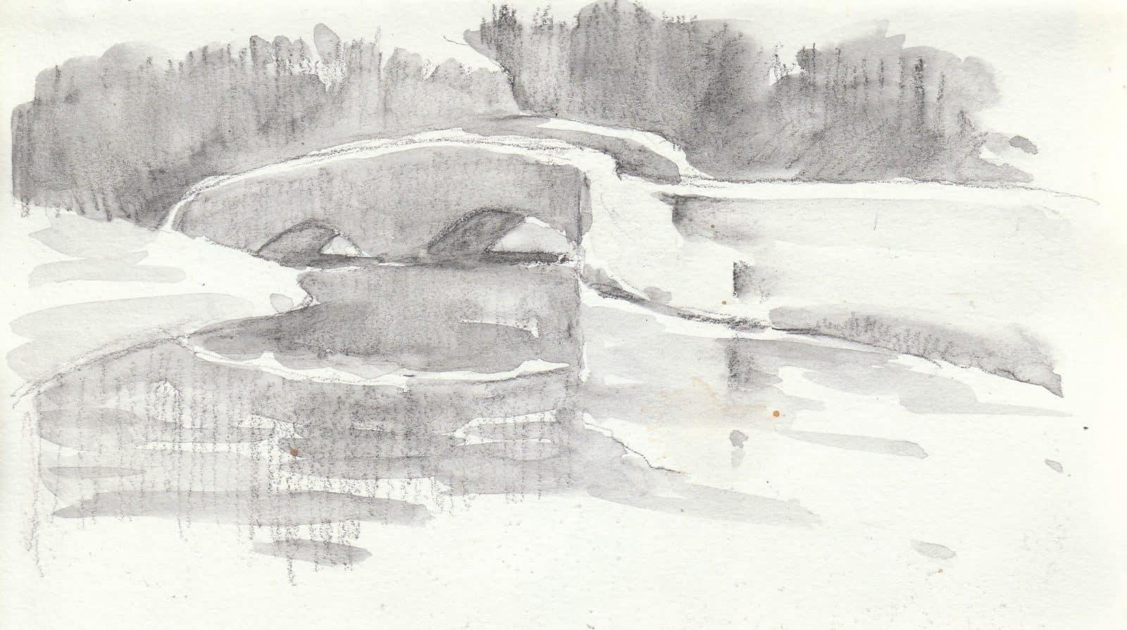 Watercolour Sketchbook by David Webb